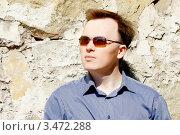 Купить «Портрет мужчины», фото № 3472288, снято 15 апреля 2012 г. (c) Хайрятдинов Ринат / Фотобанк Лори