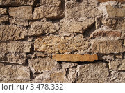 Каменная кладка. Стоковое фото, фотограф Дмитрий Федоров / Фотобанк Лори