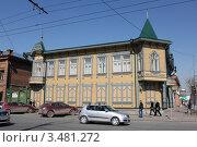 Город Красноярск, дом на улице Карла Маркса (2011 год). Редакционное фото, фотограф Буздина Александра / Фотобанк Лори