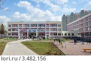 Купить «Школа», эксклюзивное фото № 3482156, снято 26 апреля 2012 г. (c) Володина Ольга / Фотобанк Лори