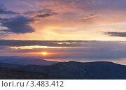 Купить «Весеннее утро в Крыму», эксклюзивное фото № 3483412, снято 21 апреля 2012 г. (c) Павел Широков / Фотобанк Лори