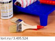 Купить «Ремонт», фото № 3495524, снято 28 декабря 2011 г. (c) Владимир Хаманов / Фотобанк Лори