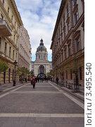 Будапешт.Вид на собор святого Иштвана (2011 год). Редакционное фото, фотограф Igor5 / Фотобанк Лори