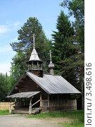 Купить «Маленькая церковь на севере», фото № 3498616, снято 22 июня 2011 г. (c) Лия Покровская / Фотобанк Лори