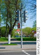 Светофор. Стоковое фото, фотограф Ольга Ларина / Фотобанк Лори