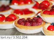 Купить «Торты с ягодами», фото № 3502204, снято 21 апреля 2012 г. (c) BestPhotoStudio / Фотобанк Лори