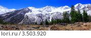 Купить «Красивый горный пейзаж, Эльбрус», фото № 3503920, снято 26 апреля 2012 г. (c) Vitas / Фотобанк Лори