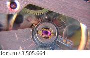Купить «Часовой механизм», видеоролик № 3505664, снято 28 марта 2008 г. (c) Losevsky Pavel / Фотобанк Лори