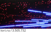 Купить «Мигающая неоновая вывеска», видеоролик № 3505732, снято 6 июня 2008 г. (c) Losevsky Pavel / Фотобанк Лори