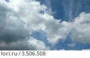 Купить «Облака», видеоролик № 3506508, снято 27 мая 2008 г. (c) Losevsky Pavel / Фотобанк Лори