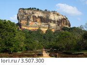 Купить «Гора Сигирия», фото № 3507300, снято 26 февраля 2012 г. (c) Лия Покровская / Фотобанк Лори