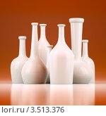 Купить «Бутылки разной формы», иллюстрация № 3513376 (c) Юрий Бельмесов / Фотобанк Лори
