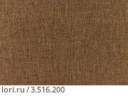 Фактура коричневой ткани. Стоковое фото, фотограф Фотиев Михаил / Фотобанк Лори