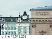 Москва. Фрагменты фасадов зданий (2012 год). Стоковое фото, фотограф Зобков Юрий / Фотобанк Лори