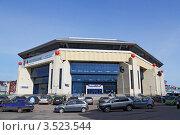 Купить «Спорткомплекс Баскет-холл в Казани», фото № 3523544, снято 5 мая 2012 г. (c) Ирина Андреева / Фотобанк Лори