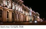 Купить «Эрмитаж в Санкт-Петербурге», видеоролик № 3525704, снято 15 сентября 2008 г. (c) Losevsky Pavel / Фотобанк Лори