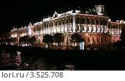 Купить «Эрмитаж в Санкт-Петербурге», видеоролик № 3525708, снято 15 сентября 2008 г. (c) Losevsky Pavel / Фотобанк Лори