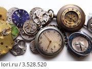 Старые часы. Стоковое фото, фотограф Сергей Белов / Фотобанк Лори