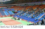 Купить «Кремлевский Кубок по теннису в Москве, 2008 год», видеоролик № 3529024, снято 17 октября 2008 г. (c) Losevsky Pavel / Фотобанк Лори