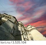 Купить «Замок Юссе (Спящая красавица), Франция, Луара», фото № 3535104, снято 7 мая 2012 г. (c) Владимир Журавлев / Фотобанк Лори
