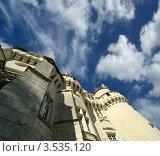 Купить «Замок Юссе (Спящая красавица), Франция, Луара», фото № 3535120, снято 7 мая 2012 г. (c) Владимир Журавлев / Фотобанк Лори