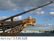 """Купить «Нос корабля """"Летучий голландец"""". Санкт-Петербург», фото № 3536628, снято 18 мая 2012 г. (c) Юлия Селезнева / Фотобанк Лори"""