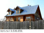 Дом в деревне (2010 год). Стоковое фото, фотограф Александр Дубровский / Фотобанк Лори