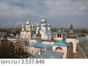 Купить «Ростов Великий. Кремль», фото № 3537848, снято 7 мая 2012 г. (c) Вячеслав Аверин / Фотобанк Лори