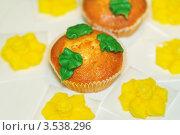 Купить «Пышные кексы», фото № 3538296, снято 21 апреля 2012 г. (c) BestPhotoStudio / Фотобанк Лори