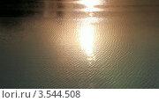 Вода в закате. Стоковое видео, видеограф Андрей Леонидов / Фотобанк Лори