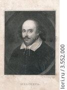 Уильям Шекспир - величайший английский драматург и поэт. Стоковая иллюстрация, иллюстратор Кудрявцева Светлана / Фотобанк Лори