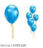 Воздушные шарики со звездами. Стоковая иллюстрация, иллюстратор Dvarg / Фотобанк Лори