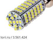Купить «Светодиодная автомобильная лампа», фото № 3561424, снято 8 января 2012 г. (c) Денис Дряшкин / Фотобанк Лори