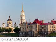 Купить «Вид на Рыбинск с Волги», фото № 3563004, снято 2 июня 2012 г. (c) Юрий Викулин / Фотобанк Лори