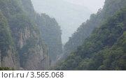Купить «Туман в горах летом, Сочи, Россия», видеоролик № 3565068, снято 24 февраля 2010 г. (c) Losevsky Pavel / Фотобанк Лори