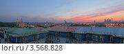 Купить «Москва, вид с Андреевской набережной», фото № 3568828, снято 17 мая 2012 г. (c) Зубов Александр / Фотобанк Лори