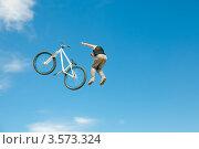 Купить «Слоуп-стайл. Тренировка прыжков», эксклюзивное фото № 3573324, снято 27 мая 2012 г. (c) Ольга Визави / Фотобанк Лори