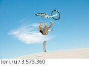 Купить «Слоуп-стайл. Тренировка прыжков», эксклюзивное фото № 3573360, снято 27 мая 2012 г. (c) Ольга Визави / Фотобанк Лори