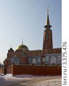 Купить «Самарская соборная мечеть», фото № 3575476, снято 10 марта 2012 г. (c) Акиньшин Владимир / Фотобанк Лори