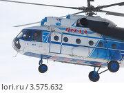 Купить «Вертолет Ми-8 в полете», фото № 3575632, снято 26 марта 2012 г. (c) Пьянков Александр / Фотобанк Лори