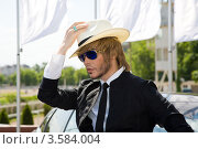Купить «Сергей Зверев», фото № 3584004, снято 2 июня 2012 г. (c) Михаил Ворожцов / Фотобанк Лори