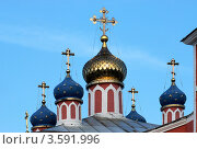 Купить «Купола храма», фото № 3591996, снято 11 июня 2012 г. (c) Зобков Георгий / Фотобанк Лори