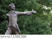 Купить «Переславль-Залесский, скульптура Петра Великого», эксклюзивное фото № 3592500, снято 30 июля 2011 г. (c) Дмитрий Неумоин / Фотобанк Лори