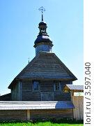 Сельская церковь (2012 год). Стоковое фото, фотограф Наталия Журова / Фотобанк Лори