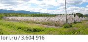 Купить «Разрушенная ферма», фото № 3604916, снято 6 июня 2012 г. (c) Андрей Петраковский / Фотобанк Лори