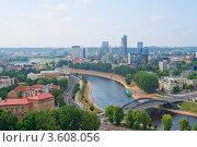 Вид Вильнюса (Литва) (2011 год). Стоковое фото, фотограф Василий Фирсов / Фотобанк Лори
