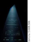 Купить «Ночная подсветка небоскреба - шанхайского финансового центра», фото № 3608584, снято 18 января 2019 г. (c) Francesco Perre / Фотобанк Лори
