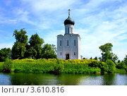 Купить «Церковь Покрова на Нерли», фото № 3610816, снято 7 июня 2011 г. (c) ElenArt / Фотобанк Лори