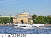 Купить «Санкт-Петербург. Нева», эксклюзивное фото № 3616664, снято 7 июня 2012 г. (c) Александр Алексеев / Фотобанк Лори