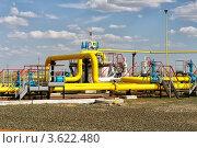 Купить «Газораспределительная станция», фото № 3622480, снято 13 мая 2012 г. (c) Александр Малышев / Фотобанк Лори